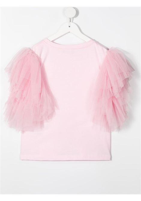 t-shirt monnallisa tulle MONNALISA | Tshirt | 417611AC72060048