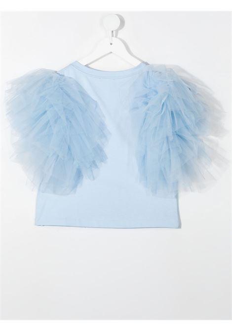 t-shirt monnallisa tulle MONNALISA | Tshirt | 417611AC72060058