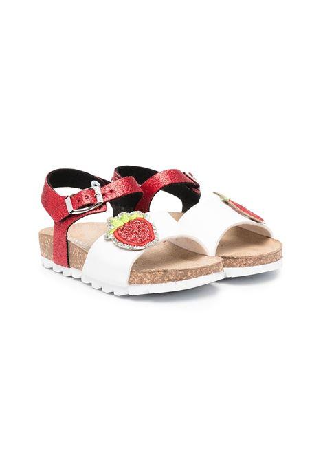 sandalo monnalisa patch fragola MONNALISA | Sandalo | 8C70157717G044
