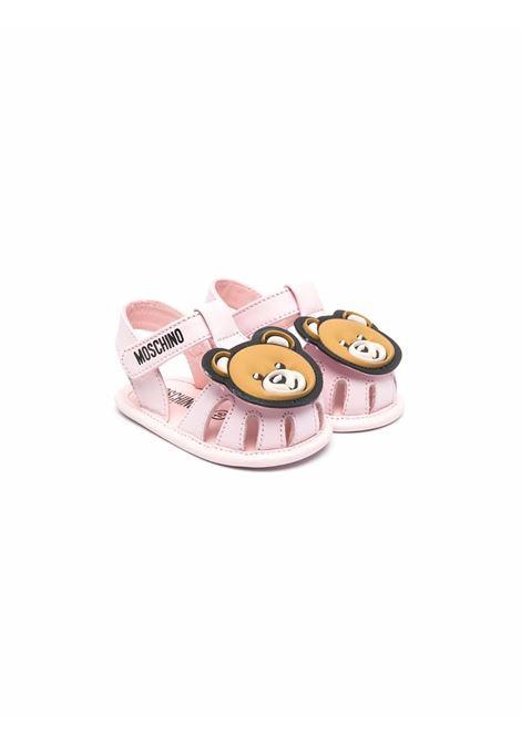 moschino baby ragnetto con orsetto applicato MOSCHINO KIDS | Sandalo | 6733302
