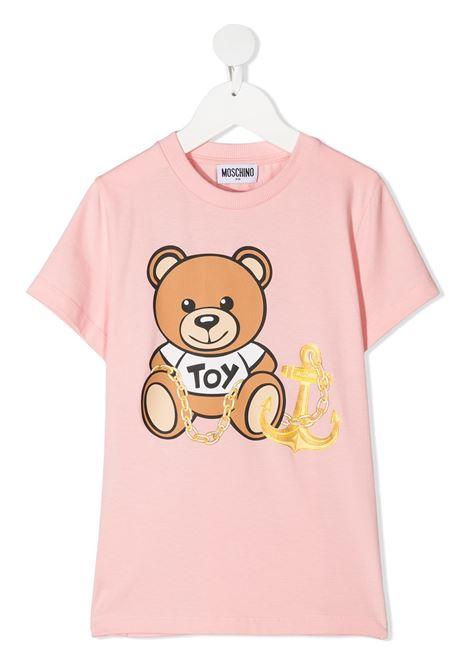 tshirt moschino junior MOSCHINO KIDS   Tshirt   HDM03PLBA0050209