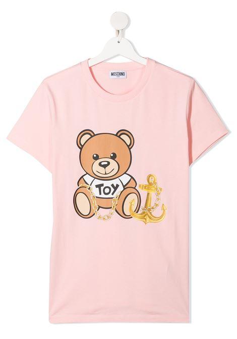 tshirt moschino junior MOSCHINO KIDS   Tshirt   HDM03PLBA0050209T