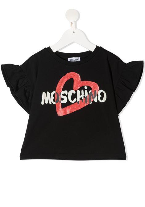 tshirt moschino junior MOSCHINO KIDS   Tshirt   HDM03SLBA0060100