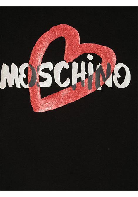 tshirt moschino junior MOSCHINO KIDS   Tshirt   HDM03SLBA0060100T