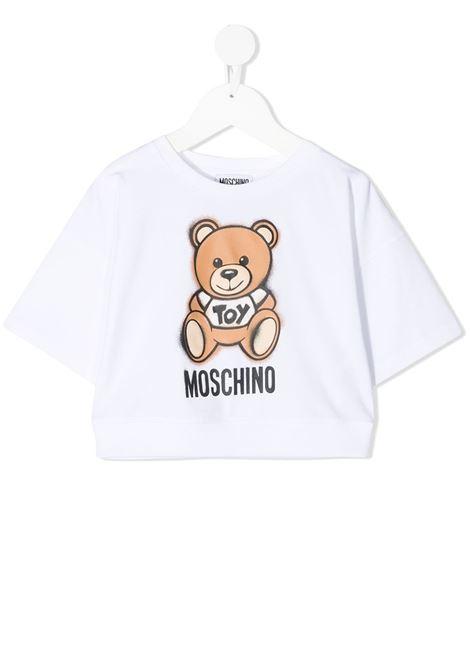 tshirt moschino junior MOSCHINO KIDS | Tshirt | HDM03XLBA1810101