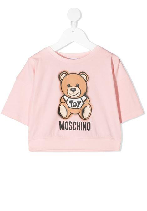 tshirt moschino junior MOSCHINO KIDS | Tshirt | HDM03XLBA1850209T