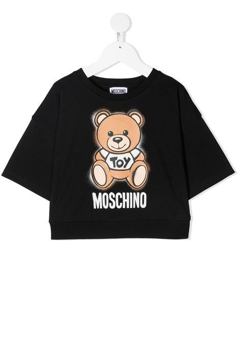 tshirt moschino junior MOSCHINO KIDS | Tshirt | HDM03XLBA1860100