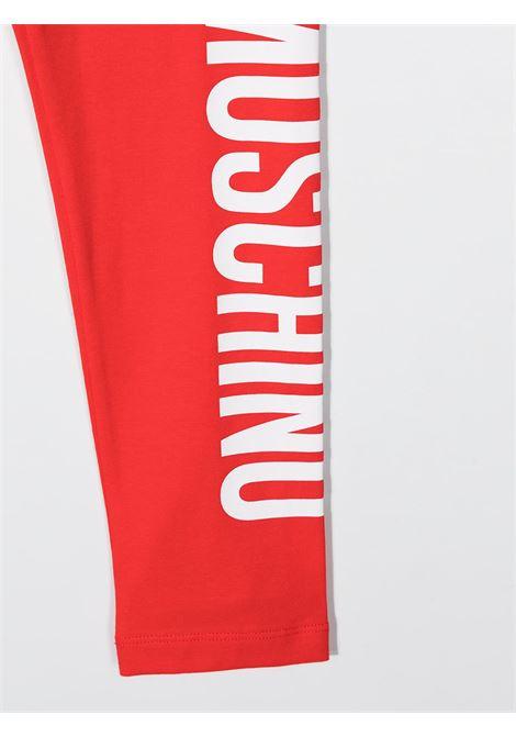 leggins moschino junior MOSCHINO KIDS | Leggins | HLP03ULBA0050109