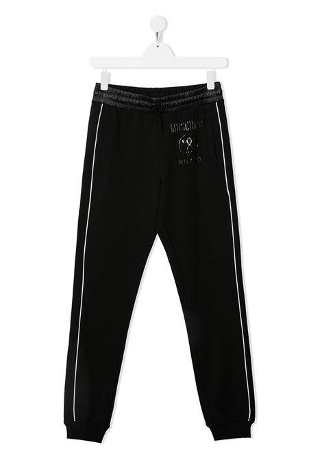 pantalone felpa moschino junior MOSCHINO KIDS | Pantalone | HUP04KLDA2560100T