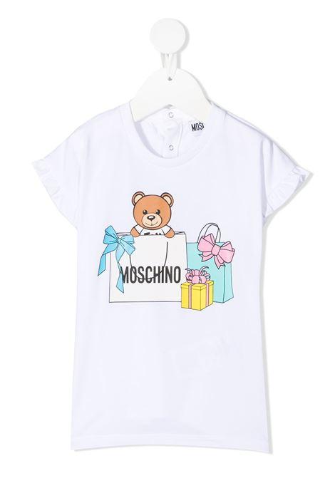abito moschino baby MOSCHINO KIDS   Abito   MDV08SLBA0010101