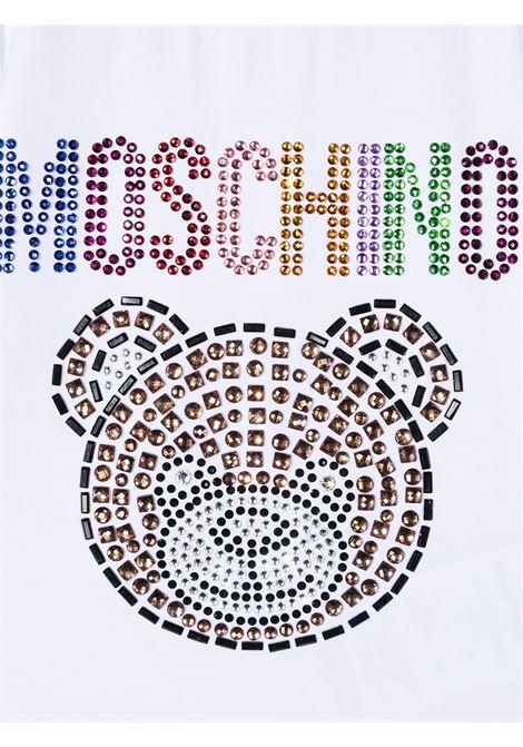 t-shirt moschino baby MOSCHINO KIDS | Tshirt | MEM02BLBA1010101