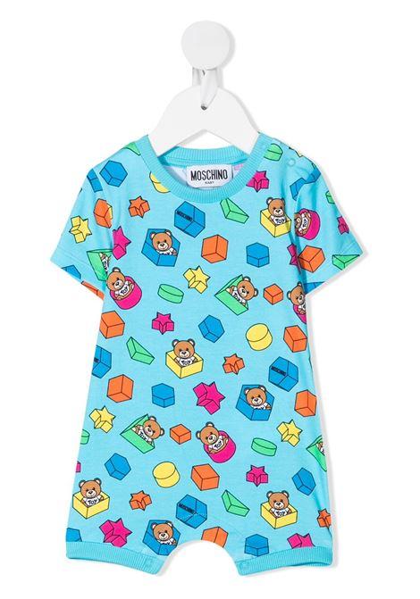 tuta moschino baby MOSCHINO KIDS | Pagliaccetto | MMT01ILBB5385837