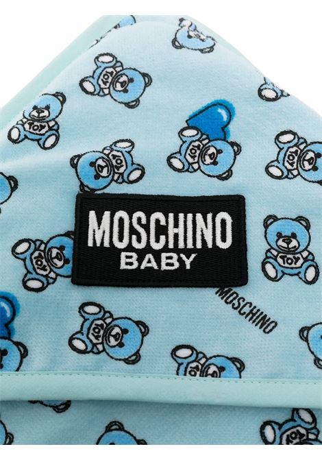 asciugamano moschino baby MOSCHINO KIDS | Accappatoio | MMX039LGA1082162