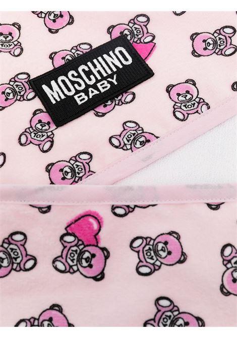 asciugamano moschino baby MOSCHINO KIDS | Accappatoio | MMX039LGA1083343