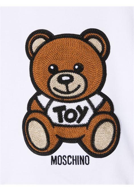 maglia moschino baby MOSCHINO KIDS | Felpa | MUF03ILDA0010101