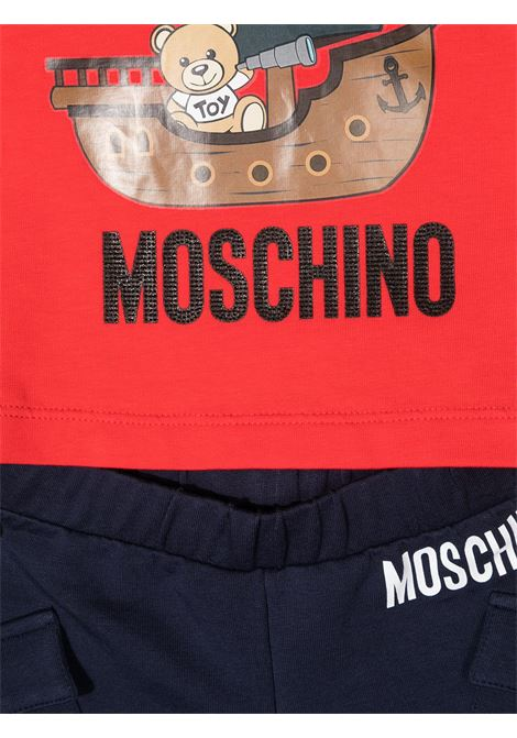 completo t-shirt e short moschino baby MOSCHINO KIDS   Completo   MUG009LBA0883403