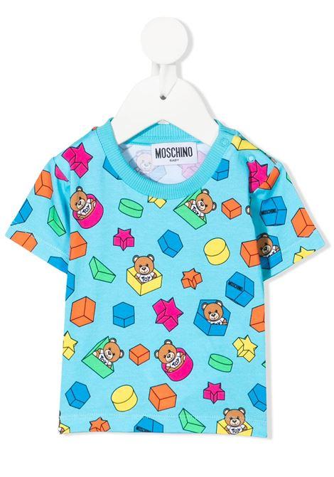 t-shirt moschino baby MOSCHINO KIDS | Tshirt | MUM02JLBB5385837