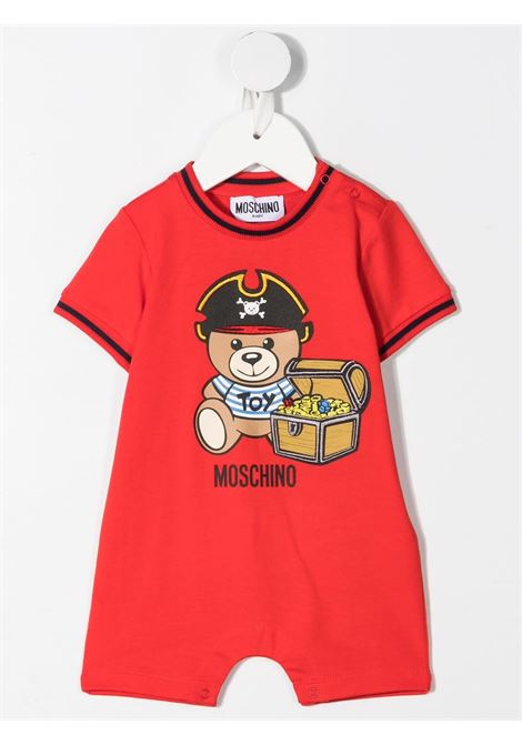 set tutina con cappello moschino baby MOSCHINO KIDS | Set pagliacetto | MUY03ALBA0850109