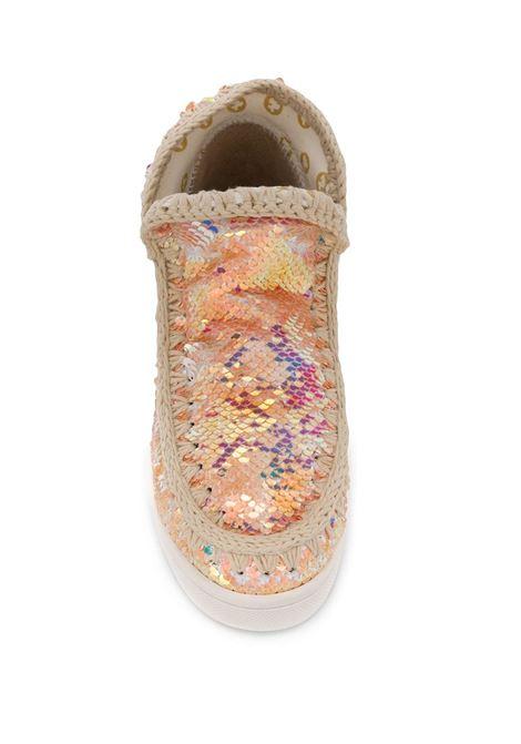 mou eskimo new sneaker sequins logo MOU | Sneakers | SW211001GIRIBEI