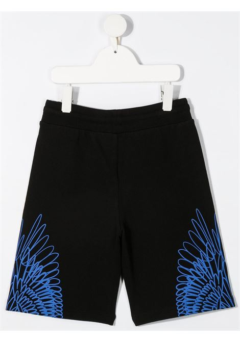 marcelo burlon kids bermuda felpa out wings Marcelo burlon | Bermuda | MB32000020B010
