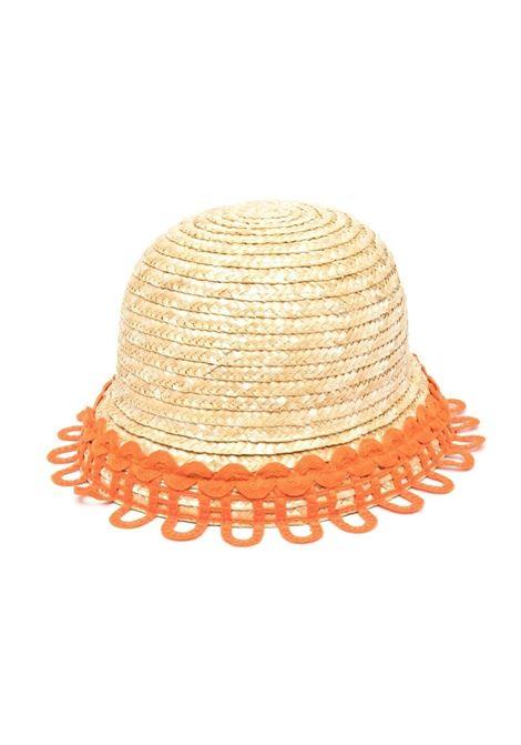 mi mi sol cappello in raffia Mi mi sol | Cappello | MACP043XX0000BGE