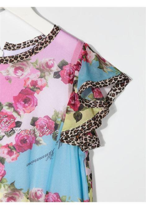miss blumarine tuta lunga in tessuto plisse' Miss Blumarine | Tuta | MBL3765FU