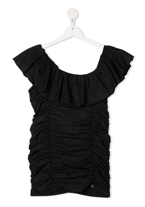 miss blumarine abito con arriccio Miss Blumarine | Abito | MBL3925NE