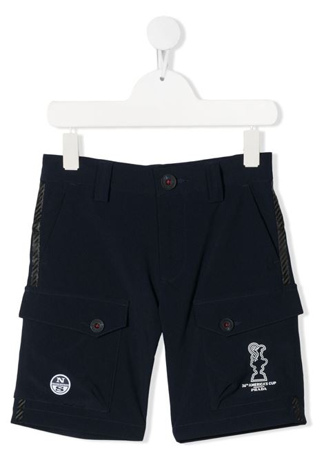 north sails x prada shorts North sails x Prada Kids | Shorts | 4548010802BL