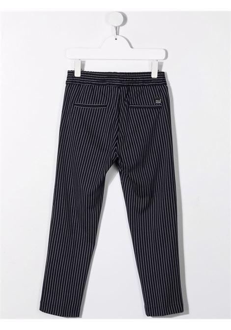 paolo pecora pantalone in punto milano con coulisse Paolo pecora | Pantalone | PP2557BL