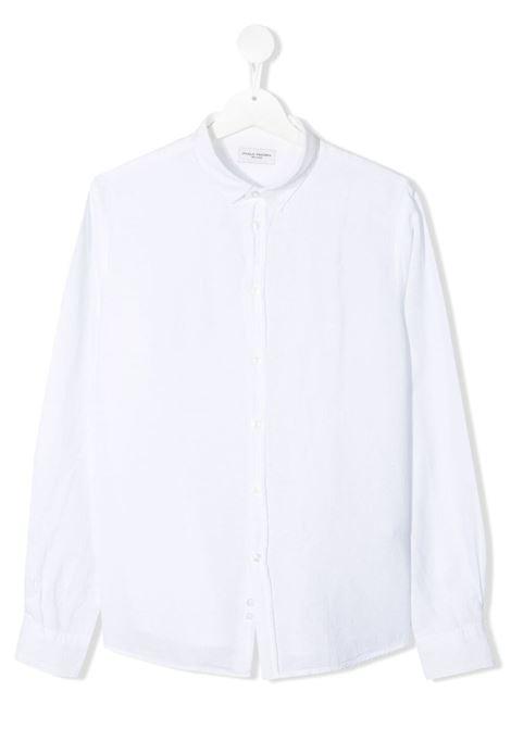 paolo pecora camicia in lino Paolo pecora   Camicia   PP2703BIT