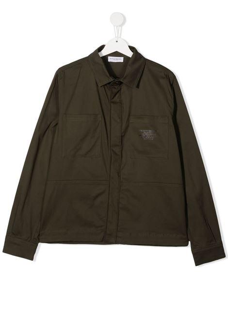 paolo pecora giacca camicia in cotone con tasconi Paolo pecora | Giacca | PP2711VET