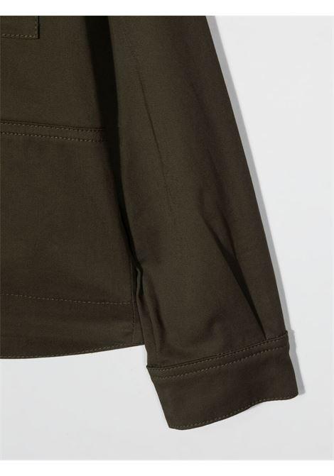 paolo pecora giacca camicia in cotone con tasconi Paolo pecora | Giacca | PP2711VE