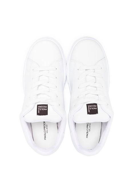 paolo pecora sneaker con logo Paolo pecora   Sneakers   PP2742B/N