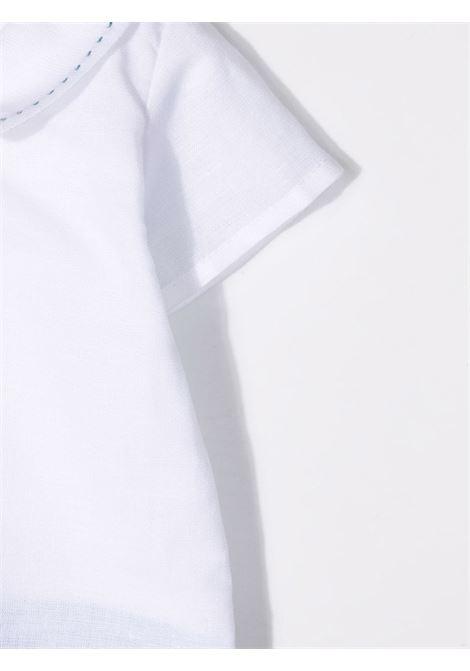 paz rodriguez pagliaccetto in lino e filo di cotone Paz rodriguez | Pagliaccetto | 325410110
