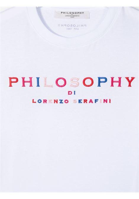 philosofy kids tshirt con ricamo Philosofy kids   Tshirt   PJTS55JE138WH101B052T