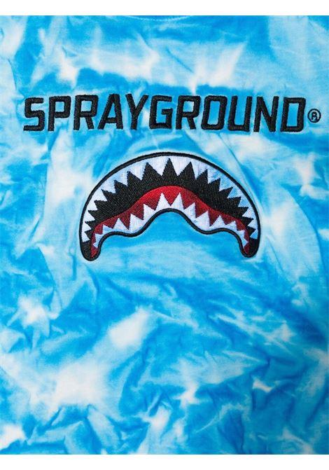 sprayground kids tshirt con ricamo logo Spraygroud kids   Tshirt   21PESPY181SKYT