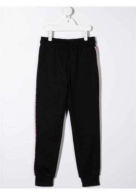 sprayground kids pantalone felpa con banda laterale Spraygroud kids | Pantalone | 21PESPY190BLK