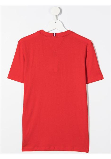tommy hilfiger tshirt con scritta logo TOMMY HILFIGER | Tshirt | KB0KB05844XNLT