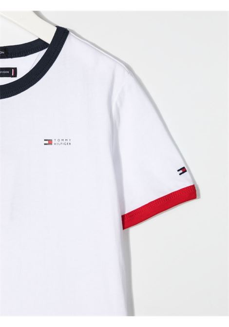 tommy hilfiger tshirt con mini logo TOMMY HILFIGER | Tshirt | KB0KB06554YBR