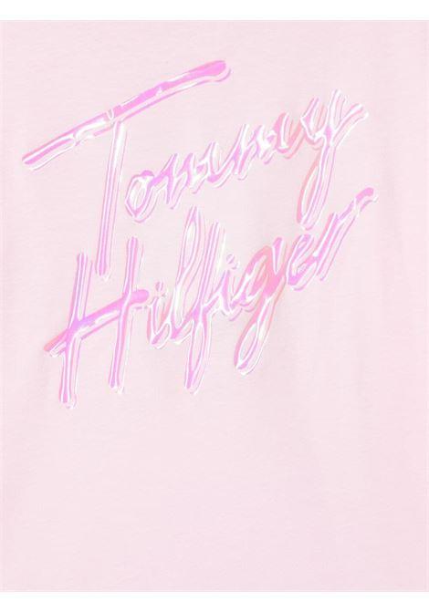 tommy hilfiger con stampa scritta logo TOMMY HILFIGER | Tshirt | KG0KG05870TOI