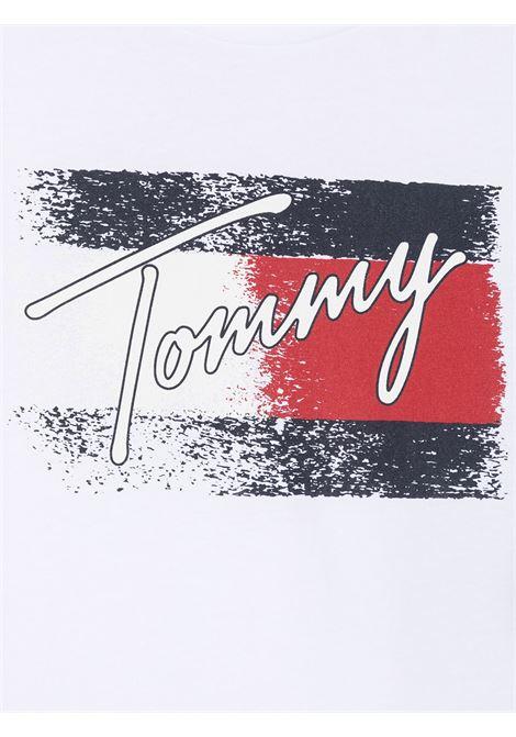 tommy hilfiger tshirt con stampa e scritta logo TOMMY HILFIGER | Tshirt | KG0KG05909YBRT