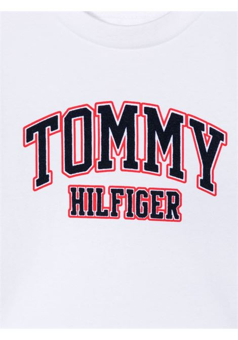 tommy hilfiger tshirt con stampa scritta logo TOMMY HILFIGER | Tshirt | KN0KN01272YBR