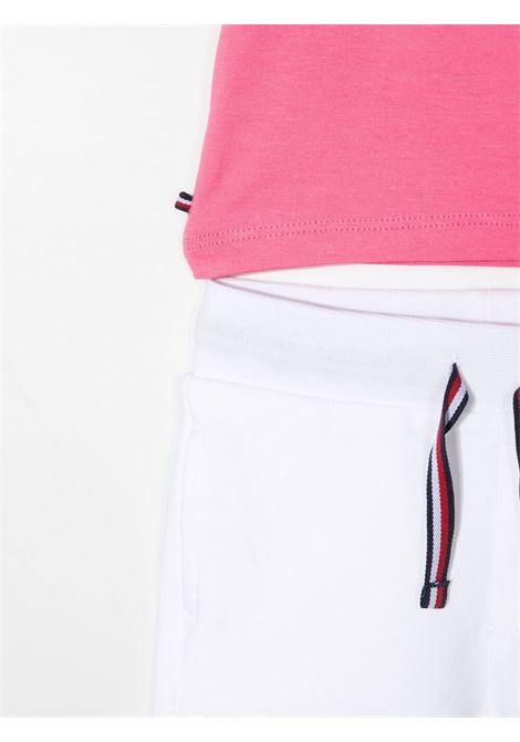 tommy hilfiger tshirt con shorts patch logo TOMMY HILFIGER | Completo | KN0KN01287THJ