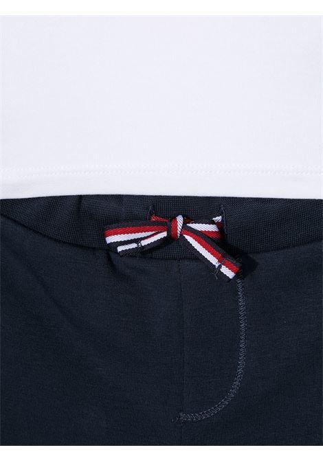tommy hilfiger tshirt con shorts patch logo TOMMY HILFIGER | Completo | KN0KN01287YBR