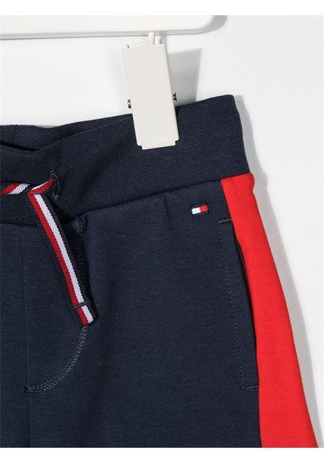 tommy hilfiger shorts con banda logo TOMMY HILFIGER | Shorts | KN0KN01291C87