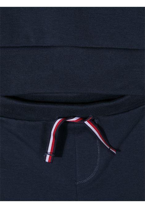 tommy hilfiger felpa con pantalone logato TOMMY HILFIGER | Completo | KN0KN01357C87