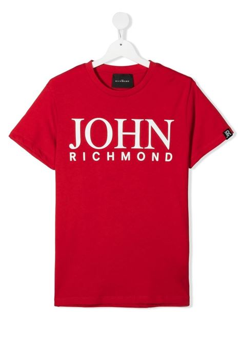 john richmond tshirt con stampa scritta logo john richmond | Tshirt | RBP21020TSW0869T