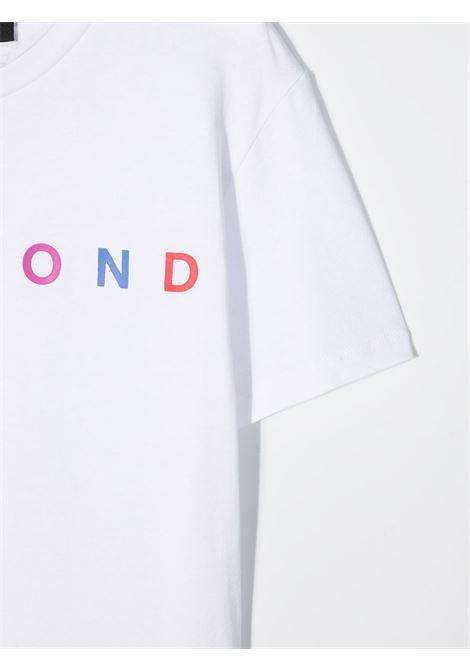john richmond tshirt con stampa scritta logo multicolor john richmond | Tshirt | RBP21021TSW0150T