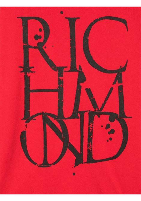 john richmond felpa con stampa logo john richmond | Felpa | RBP21093FEW3619