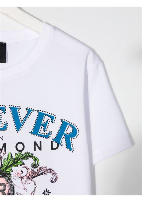 john richmond tshirt con stampa scritta logo john richmond | Tshirt | RGP21032TSW0150T